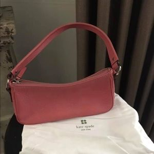 Super cute pink going out kate spade purse
